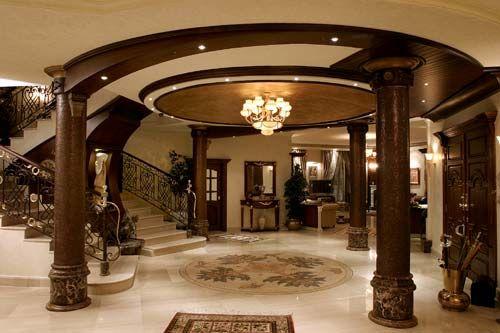 ديكورات صالات استقبال 2014 دهانات صالات استقبال 2014 صور تصاميم اثاث انتريهات صا Luxury House Interior Design Elegant Interior Design Luxury Homes Interior