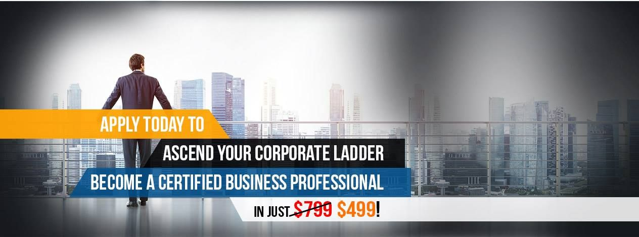 Ascend the corporate ladder by a iao certified
