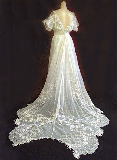 19th Century Wedding Dress The Perfect Sleeve And Back Design