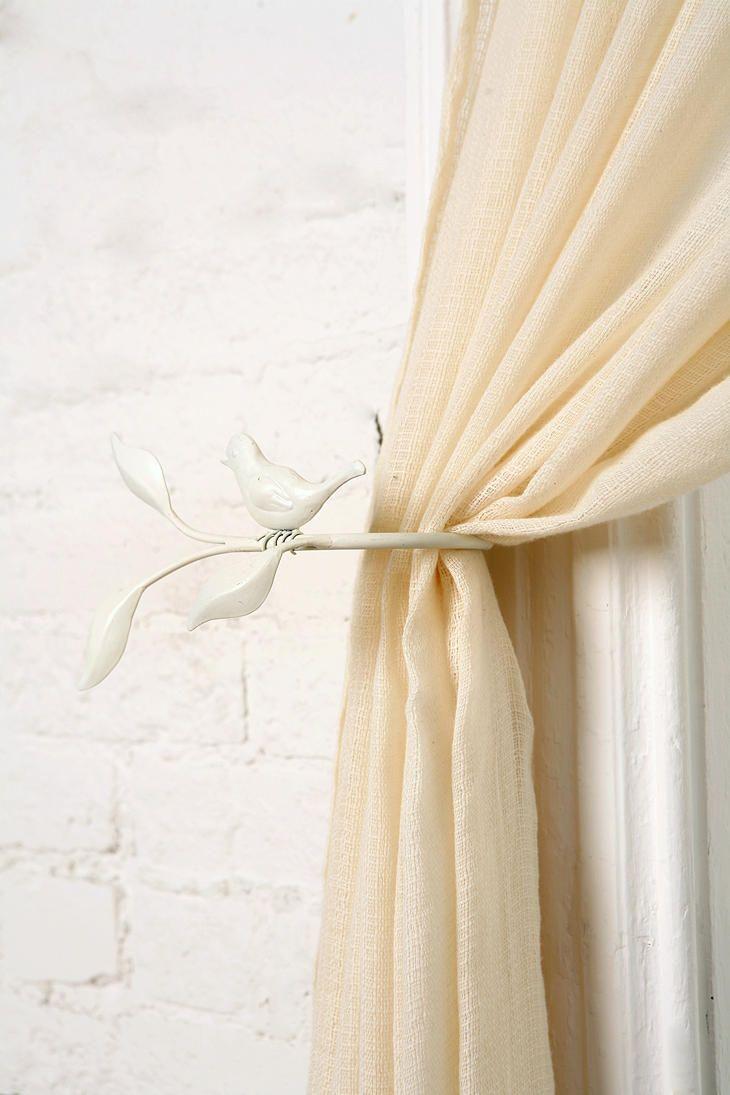 Bird On Branch Curtain Tie Back Curtain Ties Curtain Tie Backs