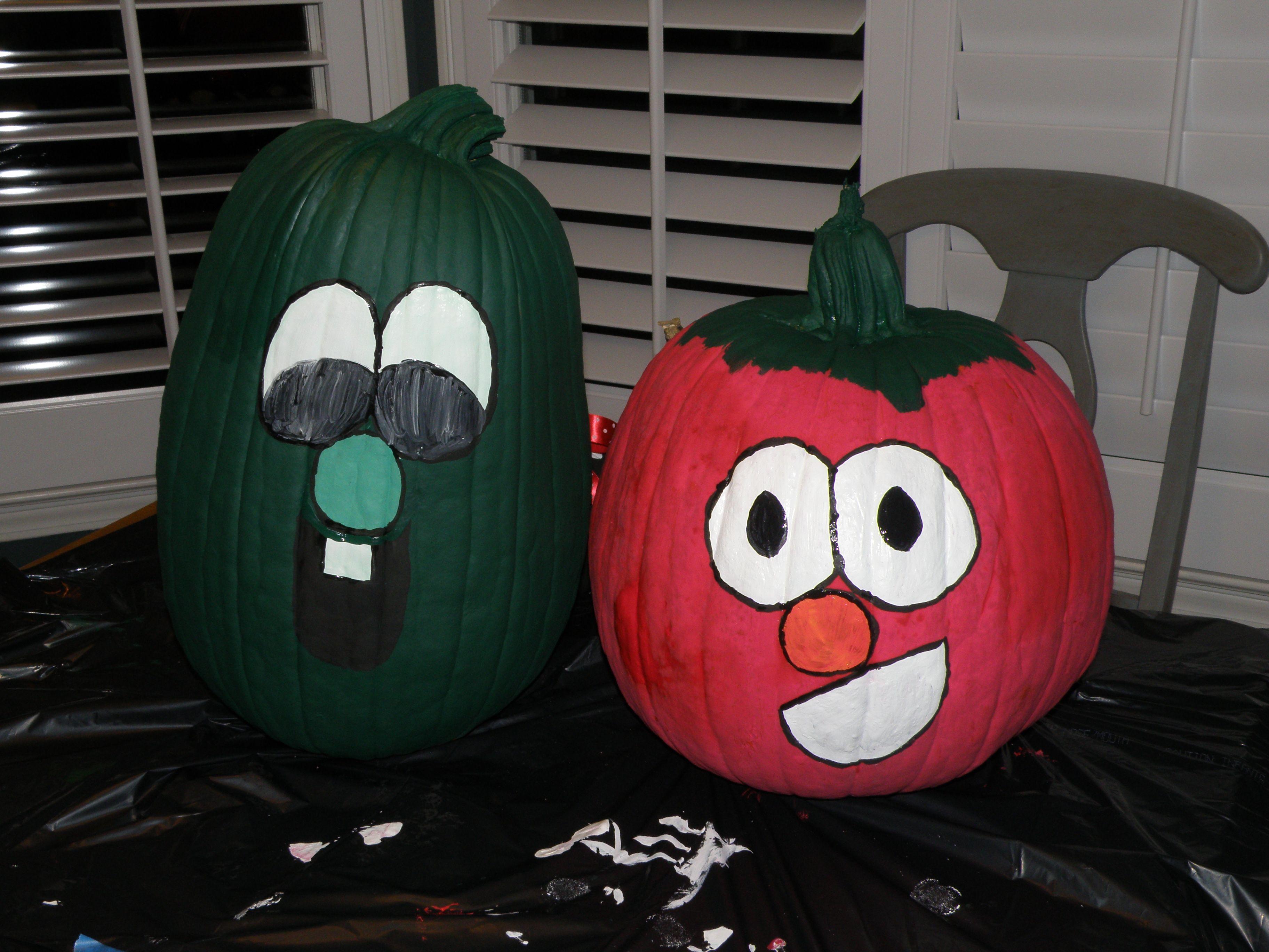 Larry bob veggietales pumpkins holidays