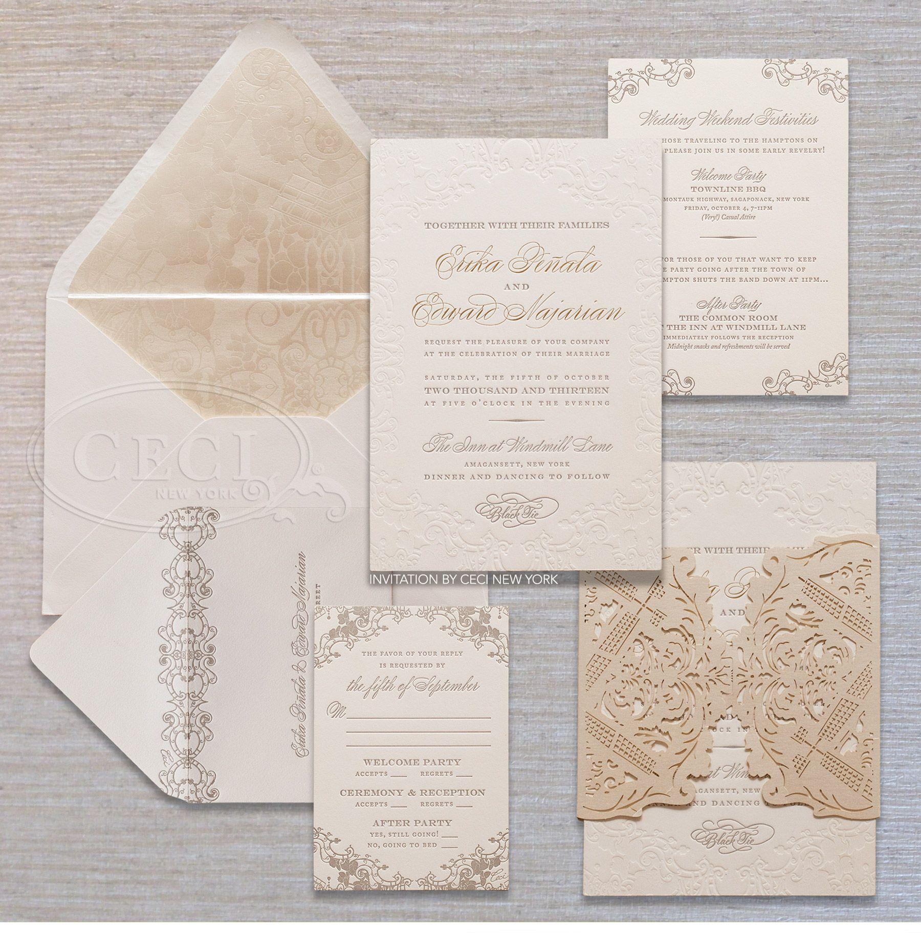 Luxury wedding invitations by ceci new york our muse ethereal luxury wedding invitations by ceci new york our muse ethereal hamptons wedding be monicamarmolfo Gallery