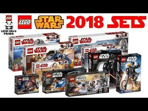 MORE LEGO STAR WARS 2018 SETS OFFICIAL PICTURES - 75204 - 75205 ...