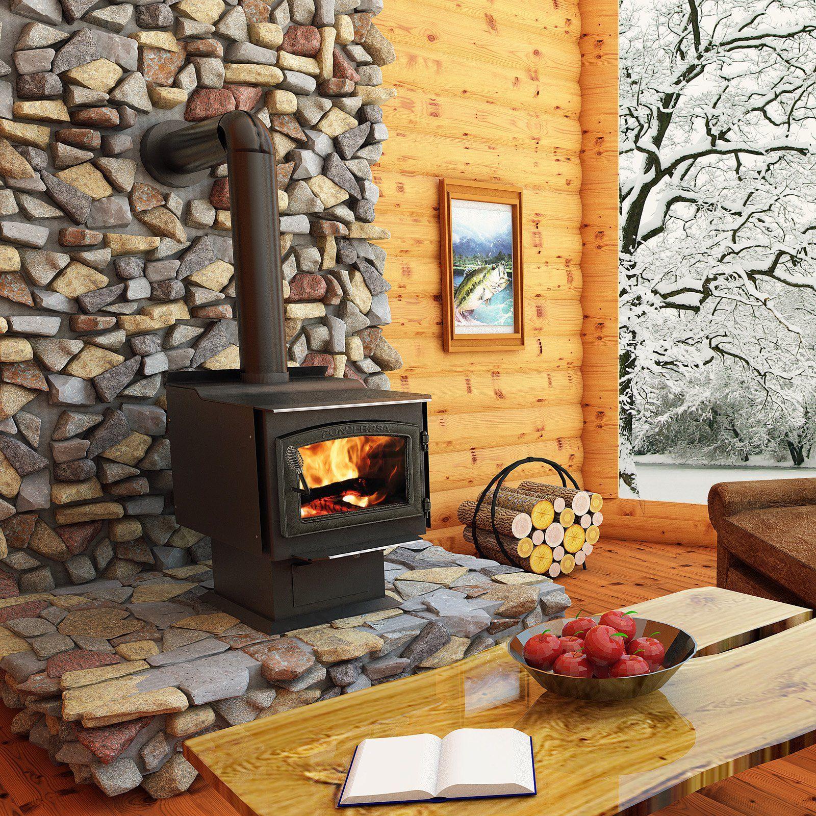 Vogelzang Ponderosa Epa Wood Stove Tr007 Wood Stove Wood