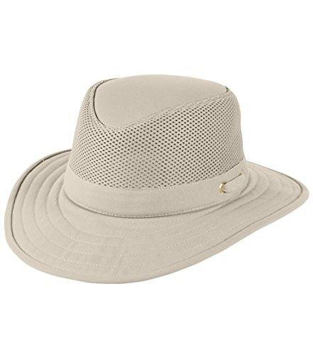 Tilley Tm10 Wide Brim With Cooling Mesh Upf 50 Hat 7 1 4 Or 22 3 4 In Men S Brown