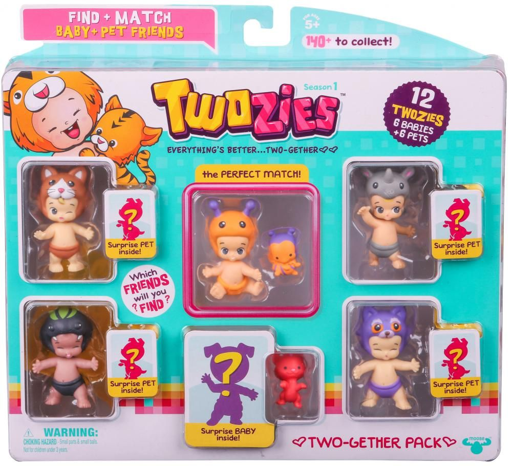 Twozies S1 Twogether Pack Moose Toys Twozies From Moose Toys  ~ Manta Actividades Bebe El Corte Ingles