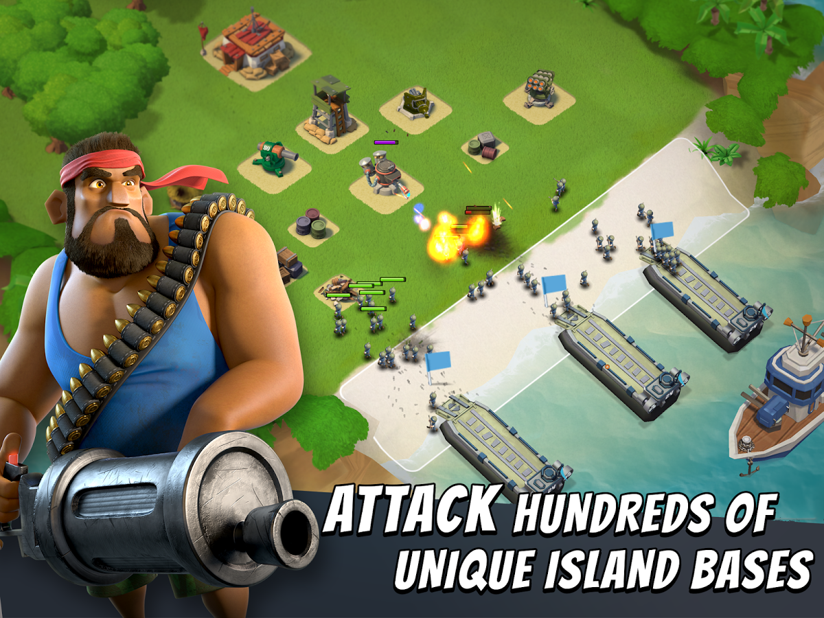 boom beach mod apk private server 2019