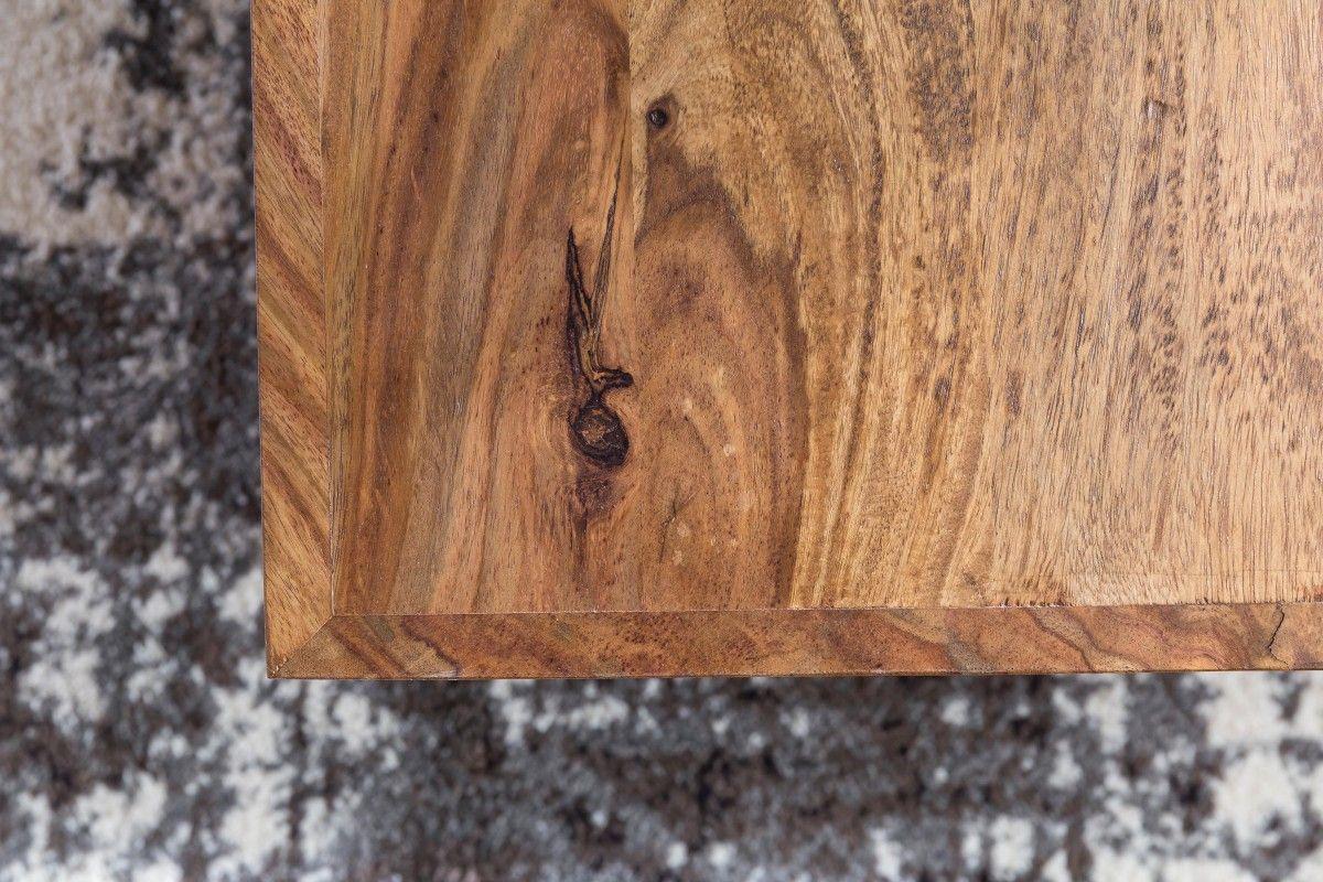 Wohnling Couchtisch Mumbai WL5.057 aus Sheesham Massivholz #Wohnzimmer #Fernsehen #Abstellmöglichkeit #Holz #Dekoration #Tisch
