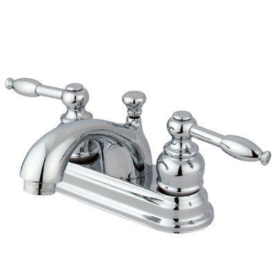 Elements Of Design St Regis Centerset Bathroom Faucet With Drain