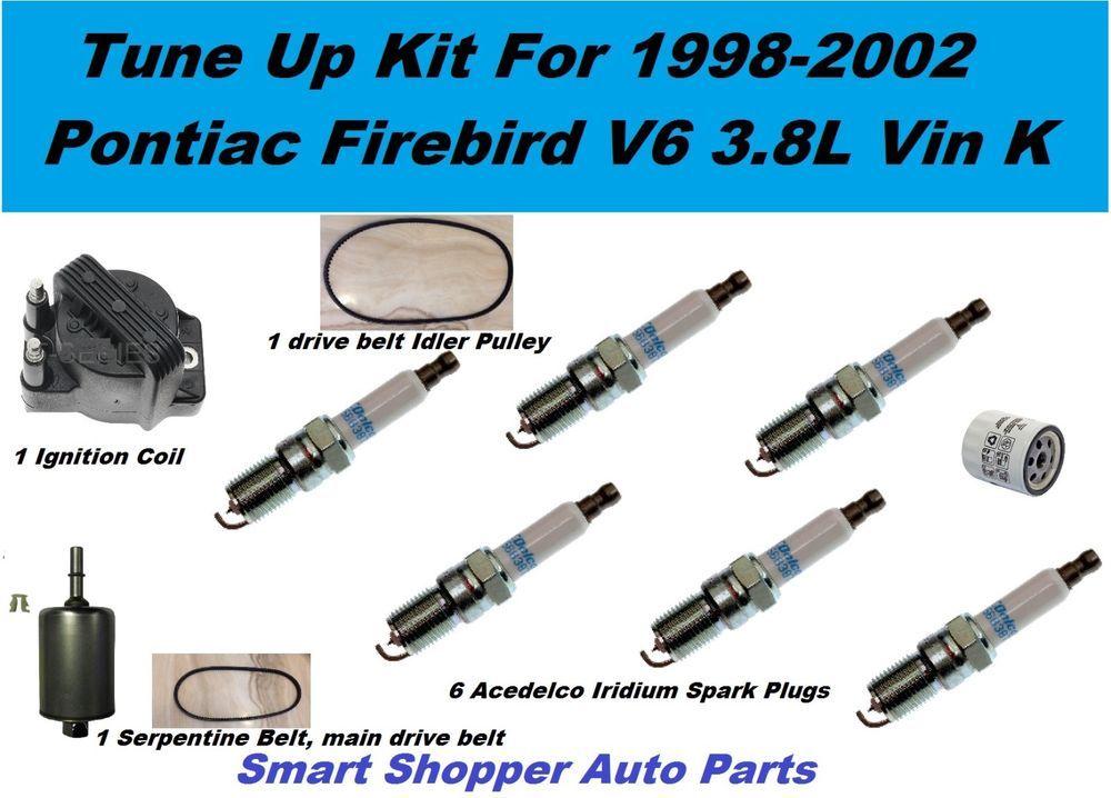 pontiac firebird v6 3 8l iginition coi l spark plug fuel. Black Bedroom Furniture Sets. Home Design Ideas