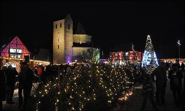 Marché de Noël d'Ottmarsheim