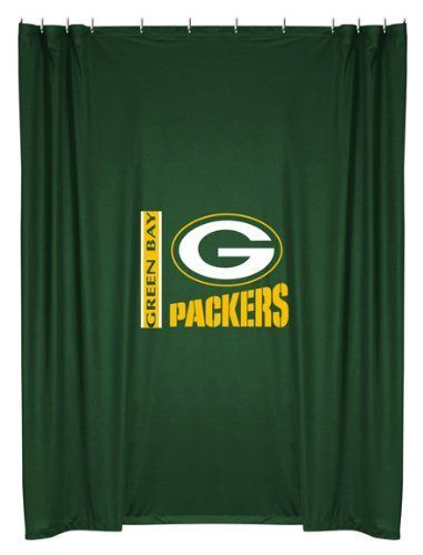 Sports Coverage Green Bay Packers Shower Curtain By