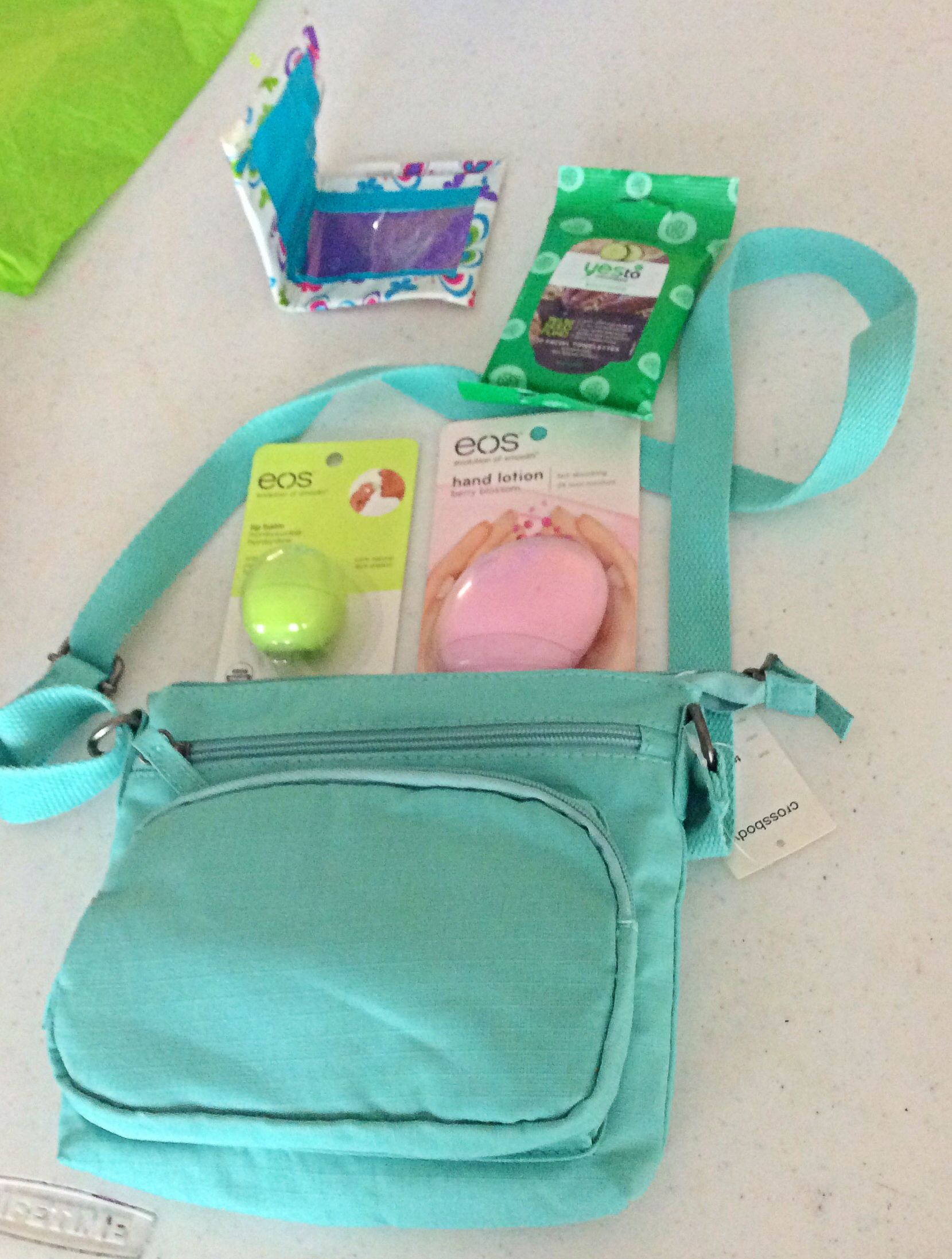 Teen Birthday Gift DIY Gifts For Girls Target Purse 10 Duct Tape Wallet Yes To Cucumbers Facial Wipes Travel Pack 3 EOS Lip Balm