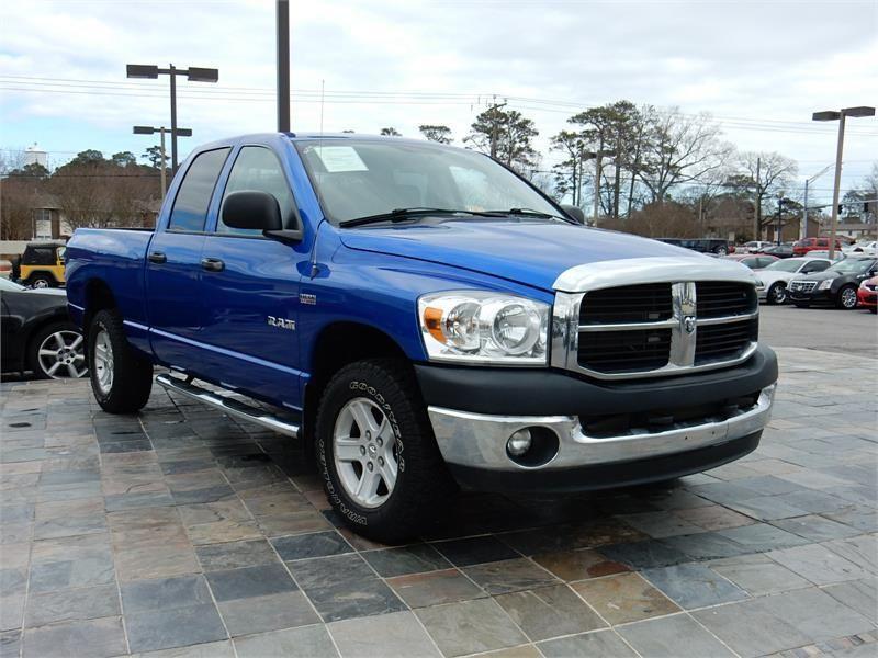 2008 Dodge Ram 1500 Slt 4x4 68586 Miles Blue Exterior Color