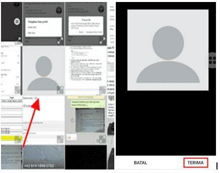 cara menghapus foto profil google iphone