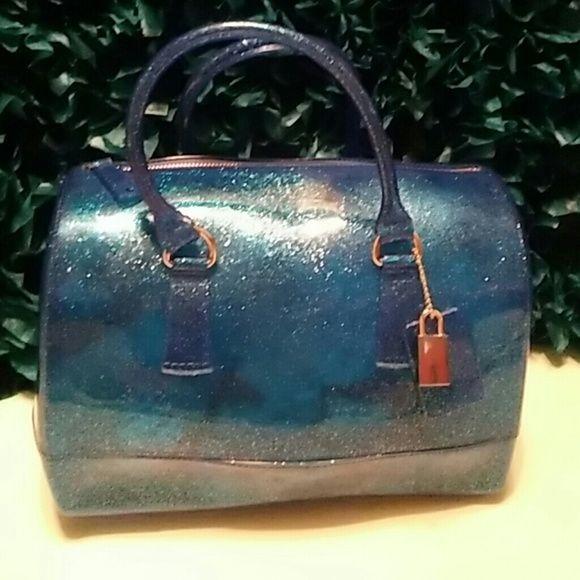 the glitter jelly handbag blue glitter jelly gold locket handbag pinterest