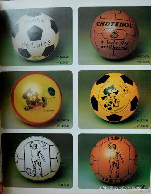 eacbf25b05 Ana Caldatto   Antigas Bolas de futebol Infantil de Borracha e Bolas  coloridas