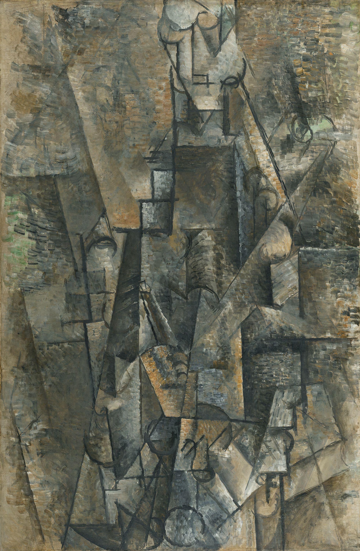 Man With A Clarinet Picasso Pablo Museo Thyssen Bornemisza