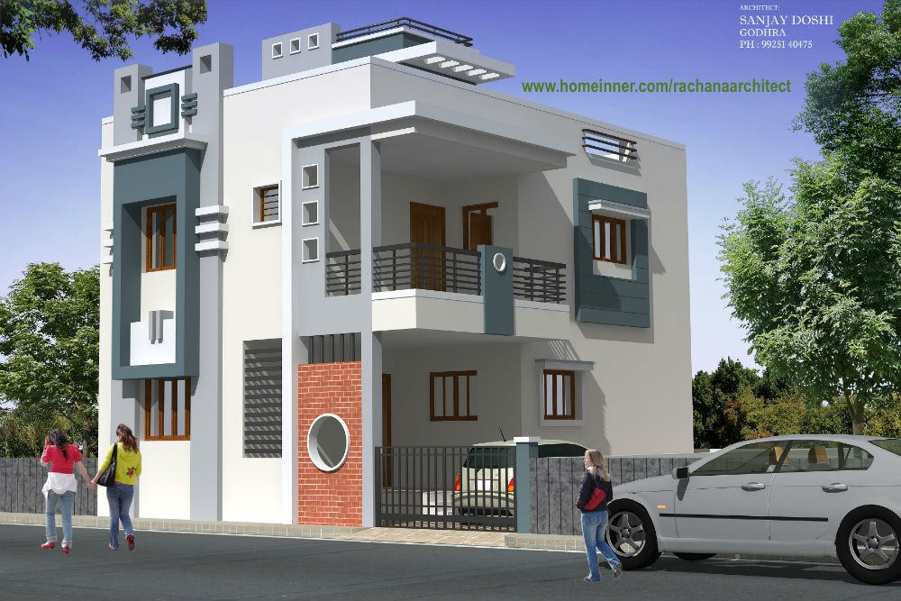 Homeinner Presents A Modern Low Cost Gujarat Home Design By Rachana  Architect From Gujarat. ♧