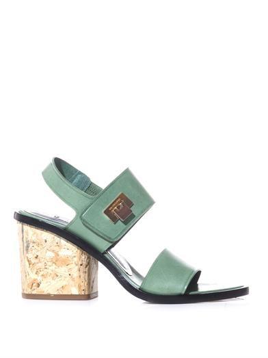 b5ea8162159 Le Dix block-heel sandals