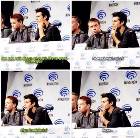 Lol - Dylan O'Brien & Will Poulter - The Maze Runner