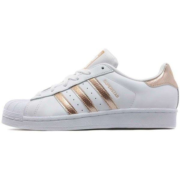 adidas Originals Superstar Women's ($99) ❤ liked on Polyvore featuring  shoes, sneakers,