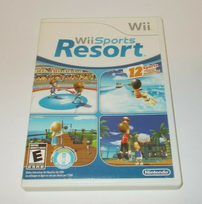 Details about Wii Sports Resort (Wii, 2009) Complete (With