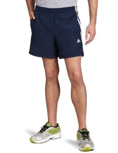 best cheap 1f5fd 4117c adidas Essentials 3-Stripes Mens Chelsea Shorts, Blue Collegiate  NavyWhite, Medium