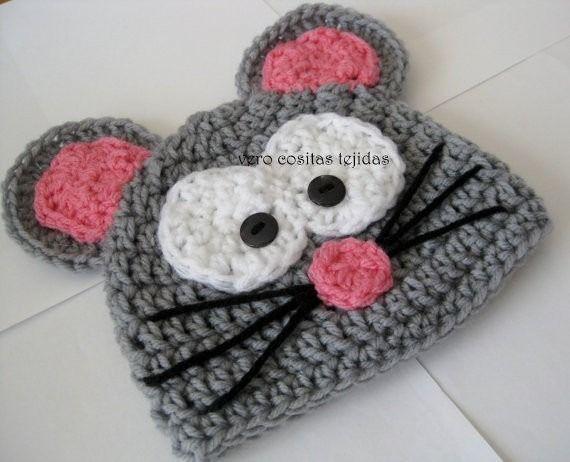 Gorros Tejidos Al Crochet Niños - Bebes - - $ 170,00 en MercadoLibre ...