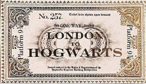 Hogwarts Professors Fan Art London To Hogwarts Hogwarts Express Ticket Harry Potter Ticket Harry Potter World Harry Potter Love