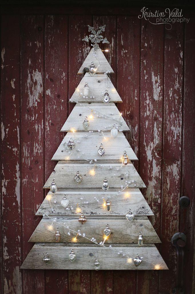 diy pallet christmas tree christmas pinterest weihnachten weihnachtsbaum und deko. Black Bedroom Furniture Sets. Home Design Ideas