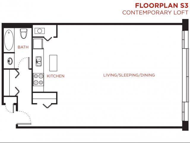 Open Floor Plan With Bedroom Loft   Google Search