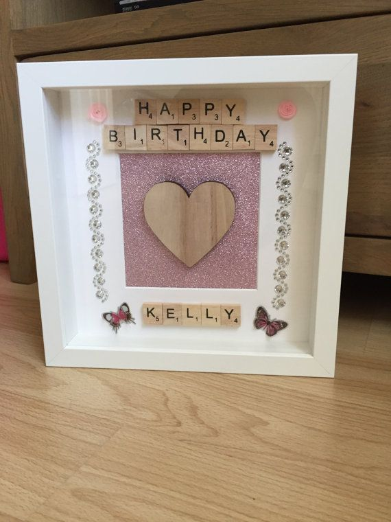 These Personalised Birthday Frames Make