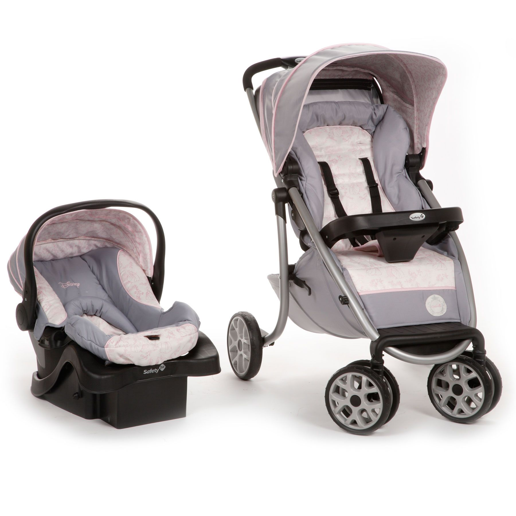 Princess Silhouette Royal Ride Travel System from Safety