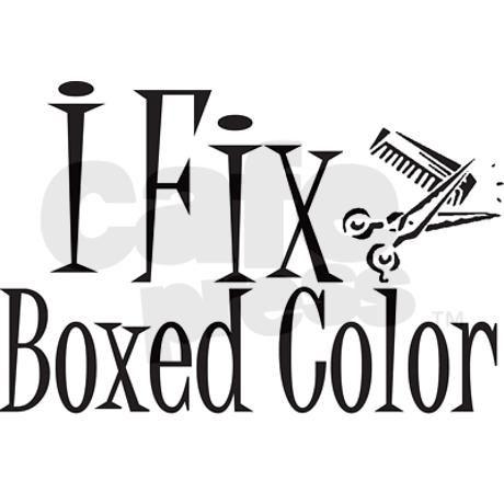 I Fix Boxed Color Button by gillentine design - CafePress