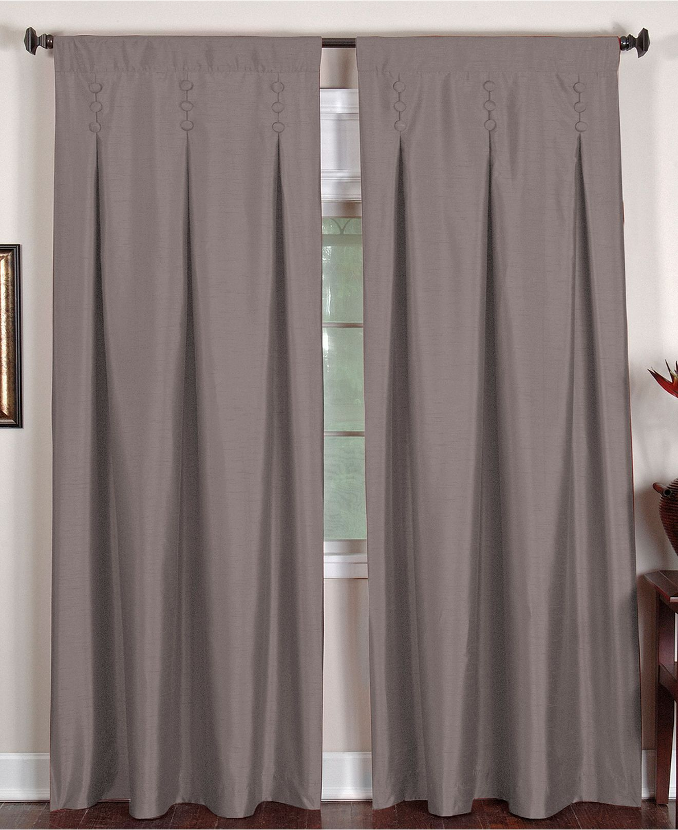 Elrene Window Treatments Imperial 26 X 84 Panel Curtains Amp Drapes For The Home Macys