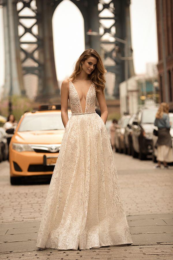 Berta 2018 wedding dresses bridal collection wedding dress and berta 2018 wedding dresses spring summer bridal collection chic stylish weddings junglespirit Gallery