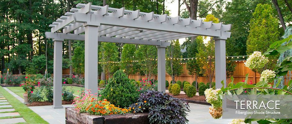 Aluminum And Fiberglass Contemporary Shade Structures - Aluminum Shade Structure Kits