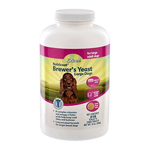Excel Brewers Yeast Mega Tabs Click On The Image For Additional Details Note It Is Affiliate Link To Amazon Brewers Yeast Pet Supplements Large Dog Breeds
