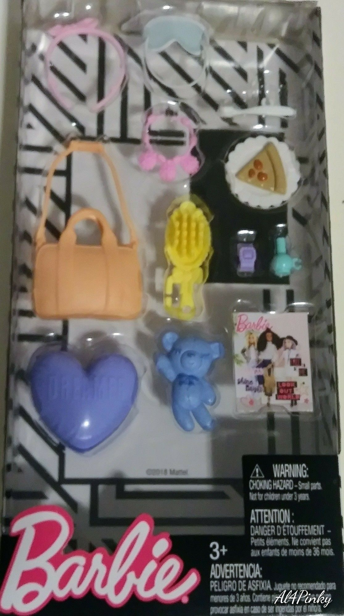 Barbie Accessories Pack 2018 FND48 FLP81 Bought at Wal