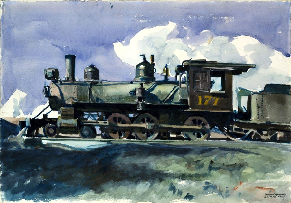 D. & R.G. Locomotive Edward Hopper - 1925