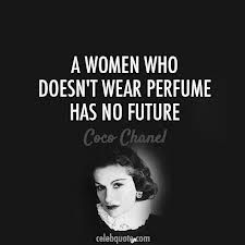 A good perfume is essential