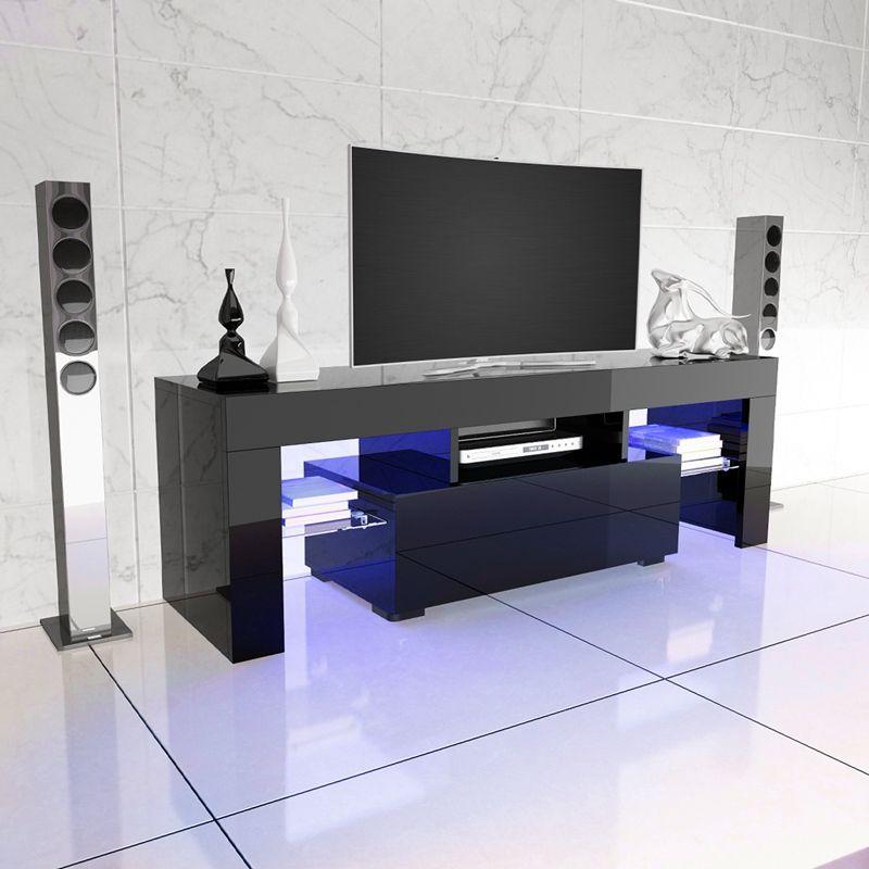 TV LED Del Basamento Lucido Mobile Porta TV Moderno Mobili ...