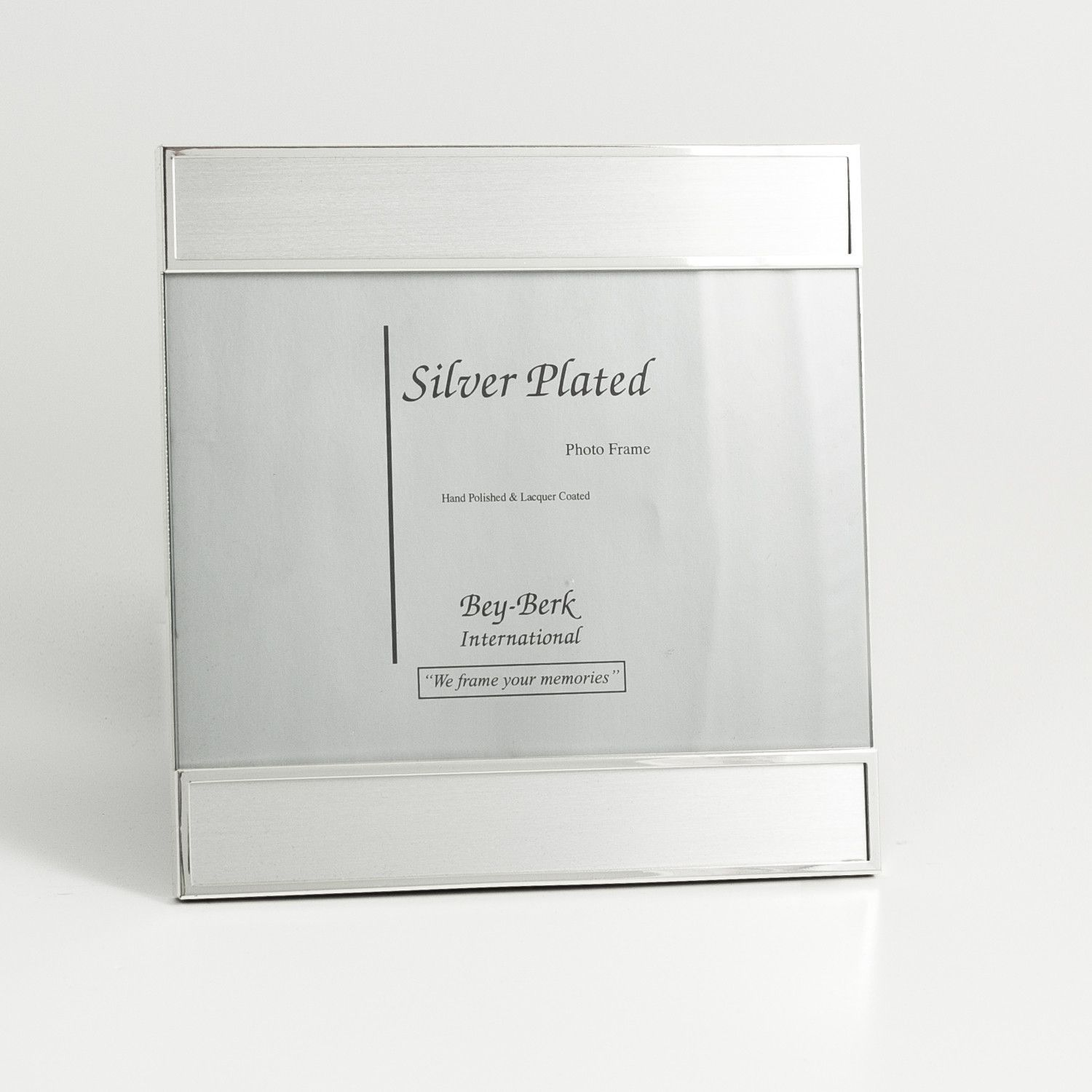 Brushed Metal Picture Frame | Brushed metal, Metals and Products