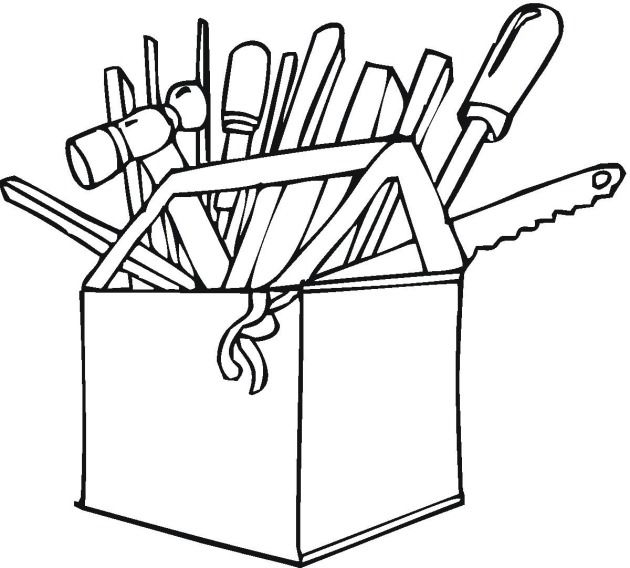 Free Tools Coloring Pages Coloring