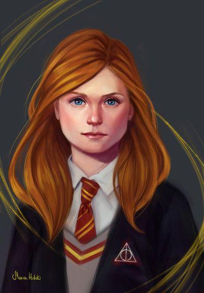 Ginny Weasley By Maria Hideki
