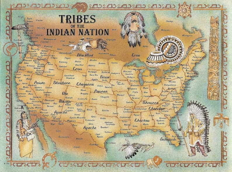 american indian tribes map history pinterest indian tribes