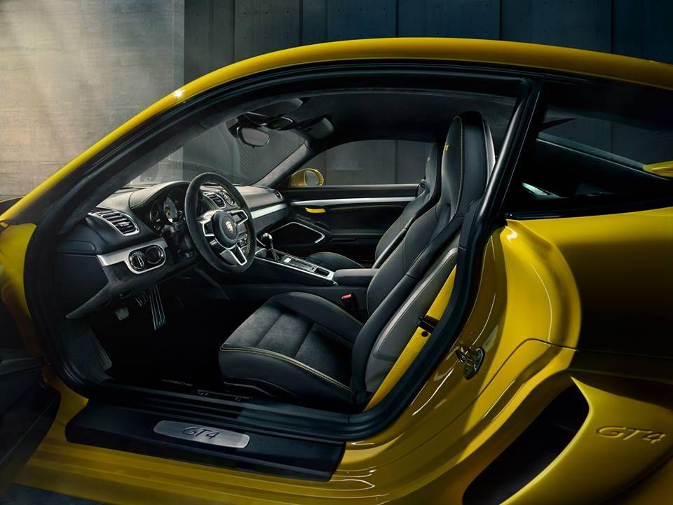 2016 Porsche Cayman GT4 Concept and Price Interior Photos