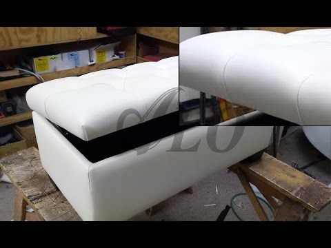 Terrific Diy Tufted Bench With Storage Space Aloworld Youtube Inzonedesignstudio Interior Chair Design Inzonedesignstudiocom
