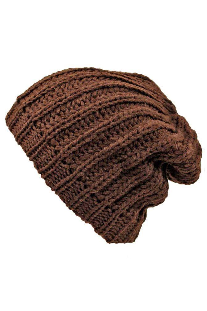 Thick Chunky Knit Tight Beanie Cap  96cc2d983d7